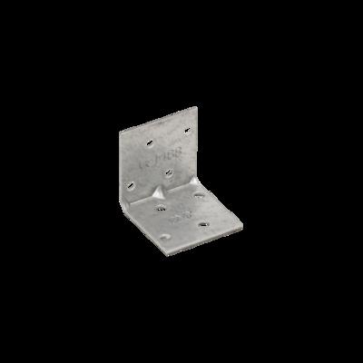 Úhelník montážní s prolisem 40 x 40 x 40 mm KMP 1 - 1