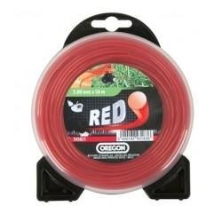 Nylonové lanko červené kruh 1,3 mm x 15 m