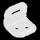 Úhelník na nábytek 25x25x29 mm FKS1 bílý - 1/2