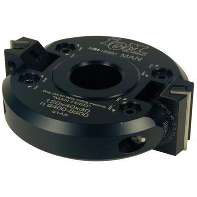 Úhlová stavitelná fréza D120 x 40 x d30 Z2 / IGM F607 - 1