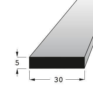 Lišta H 3005 BK /90