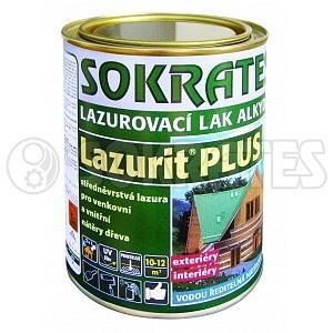 Sokrates Lazurit PLUS alkydová pinie 0,7 kg - 1