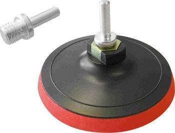 Univerzální unašeč 115mm, suchý zip, závit M14(+stopka 8 mm), na úhlové brusky i vrtačky