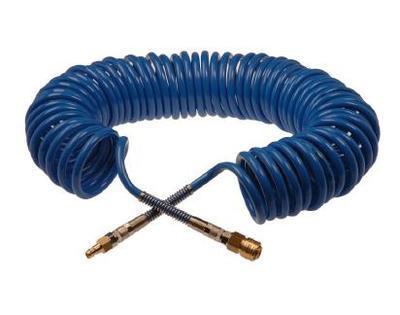 Hadice spirálová modrá 10m 5x8mm PROFI - včetně spojek