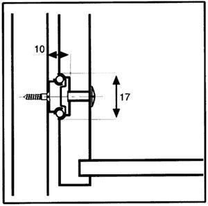 Strong kuličkový částečný výsuv 17/182 mm 10kg - 2