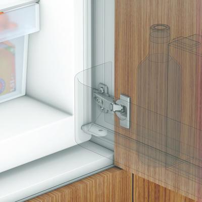 Pant k vestavěné lednici + podložka K - BL - 2
