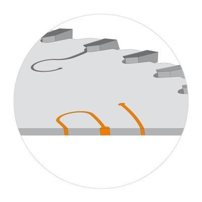Pilový kotouč na lamino, DTD a MDF D300 x 3,2 x 30 Z96, CMT C281 - 2