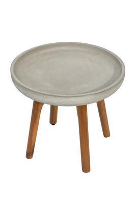 Odkládací stolek LAURA světle šedá malý - 2