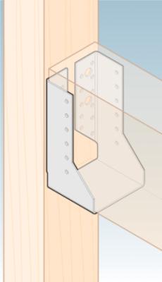 Trámová botka uzavřená 60 x 100 mm WBZ 14 - 3