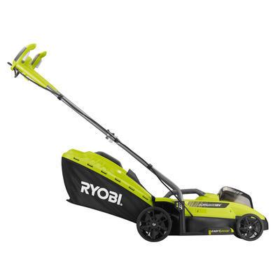 RYOBI Akumulátorová travní sekačka 18 V, RLM18X33H40F  - 3