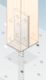 "Patka sloupku typu ""T"" zapuštěná 90 x 130 x 8 mm PSW 90 - 3/3"