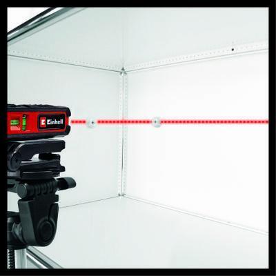 Vodováha laserová TC-LL 1 Einhell Classic - 4
