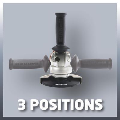 Úhlová bruska 125 mm 750 W TE-AG Kit Einhell Expert - 5