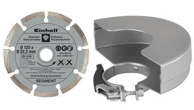 Úhlová bruska 125 mm 750 W TE-AG Kit Einhell Expert - 6